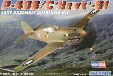 Hobby Boss 1/72 Curtiss P-40B/C HAWK 81 Easy Assembly # 80209