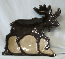 Home Studio Woodland Accent Moose Tray