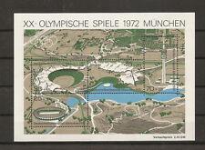 RFA 1972 BF 6 JO JEUX OLYMPIQUES MUNICH NEUF **