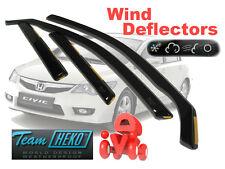 Honda Civic 2006 - 2013  SALOON / SEDAN  Wind deflectors  4.pc  HEKO  17135