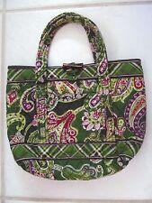 """Vera Bradley Chelsea Tote Purse Cosmetic Bag Chelsea Retired Small 10.5""""x9"""""""