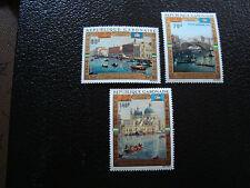 GABON - timbre - yvert et tellier aerien n° 124 a 126 n** (A7) stamp