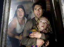 PHOTO LA GUERRE DES MONDES - TOM CRUISE, TIM ROBBINS & DAKOTA FANNING /11X15 CM