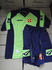 maglia portiere + pantaloncino short messina nuovi nuovo taglia L-XL verdeblu