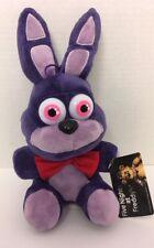 """Five Nights At Freddy's BONNIE Purple Bunny Rabbit 12"""" Plush MWT Good Stuff D10"""