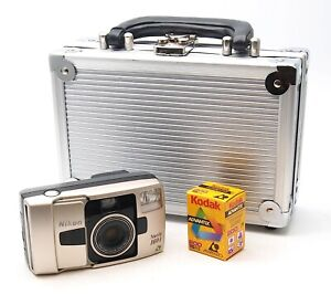 Nikon Nuvis 160i APS Film Camera + APS Film in Metal Case - UK Dealer