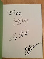 SIGNED x4 Boyhood : Twelve Years on Film HC Linklater Ellar Cathleen Lankes New