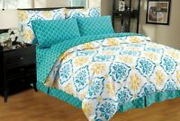 Montana 8-PC Twin-Full-Queen-King Bed Comforter Set w/ Sheets & Pillowcases