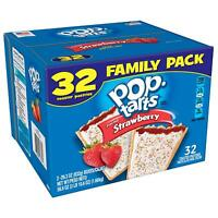 Kellogg's Pop-Tarts Frosted Strawberry Toaster Pastries - Fun Breakfast for