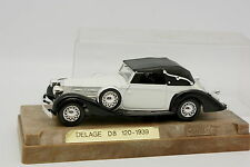 Solido Age golden 1/43 - Delage D8 120 1939 White