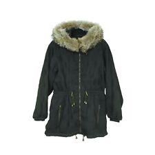 Womens Skea Paris Vail ski winter jacket size 12 fur trim hood hooded