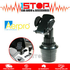 CAR CUP HOLDER MOUNT for SMARTPHONE iPHONE 5 6 7 PLUS SAMSUNG GALAXY S6 S7 NOTE
