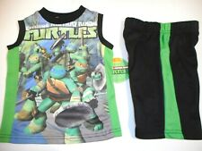 Teenage Mutant Ninja Turtles Clothes Toddler Boys Outfits Shirts Shorts 2T, 3T
