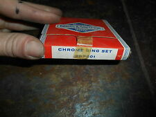 NOS Briggs and Stratton OEM Chrome Ring Set 297201