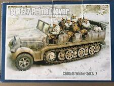 Collectors Showcase CS00518 German Winter Camo Prime Mover Hanomag Halftrack New