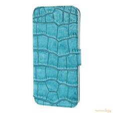 Valenta Booklet Slim Classic Flip Case for iPhone 5/5S/5C/SE - Glam Turquoise