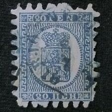 Finland  SC #9  Used  1866