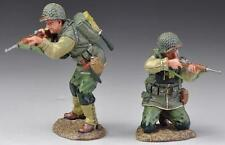 Thomas Gunn Ww2 U.S. Army 2Nd Rangers Usa003A Kneeling & Standing Firing Wet Mib