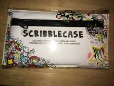 Scribble Case customize your pencil case/4 pens to decorate case W9668