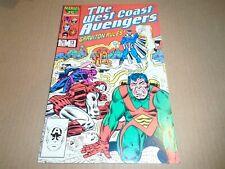 AVENGERS WEST COAST #13 Marvel Comics VF- 1986