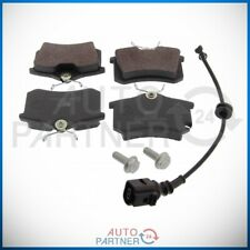 Brake Pads Rear with Warning Contact for Audi A1 A2 A3 A4 A6 VW Golf IV/Estate