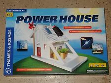 Power House Sustainable Living Experiments Thames & Kosmos Science New in box
