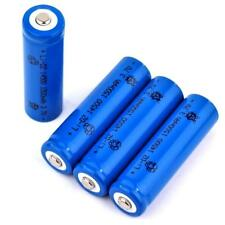 4 Lithium Ionen Akku 3,7 V / 1500 mAh Typ 14500 Li ion Gr. 50 x 14 mm AA Größe