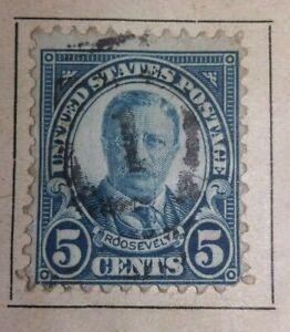 US Stamps Postage Stamp 5 cent Roosevelt