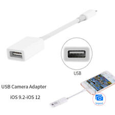 lightning to USB Camera Reader Adapter For iPod iPad Data Sync Connector Cable