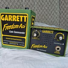 Garrett Metal Detector Freedom Ace Coin Commander Units lot of 2 for parts as is