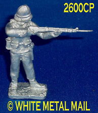 Military Lead Casting LA2600CP 24th Foot Enlisted Man Standing Firing