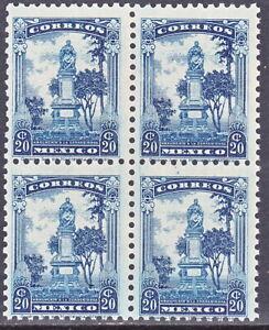MEX1934 < 20c LA CORREGIDORA> B4 STAMPS SC#691 CV$3+ (A761)