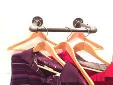 "Urban 26"" Industrial Pipe Wall Rack - Clothing Rack, Closet Organization"