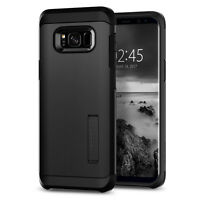 Spigen® Samsung Galaxy S8 [Tough Armor] Shockproof TPU Kickstand Case Cover
