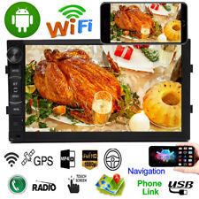 Android 8.1 7Inch 2 Din Car Stereo Radio No-DVD Player GPS Navi Wifi Mirror Link