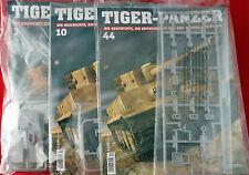 """""""3 xTiger-Panzer zum selbstbauen***Ausg. 3/10 + 44**Hachette**Scale:1:16**Neu**"""