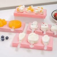 Ice Cream Silicone Mold with Lid Jelly Popsicle Mould Dessert Decorating Tool