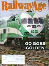 2017 Railway Age Magazine: GO Goes Golden/Passenger Rail Planner's Guide/Tamping