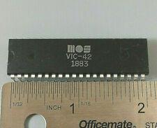 MOS TECHNOLOGIES VIC-42 VINTAGE VIDEO 40-PIN DIP