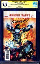 Ultimate Armor Wars #2 CGC SS 9.8 signed x2 Brandon Peterson Steve Kurth SKETCH