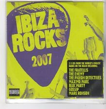 (FF690) Ibiza Rocks 2007, 30 tracks various artists - 2007 DJ CDs