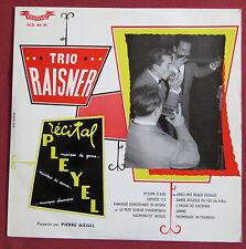 """TRIO RAISNER 10"""" 25 CM LP RECITAL PLEYEL  HARMONICA"""
