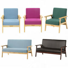 Living Room Modern Sofa Chair Armchair Lounge Chair Loveseat Comfortable Seat US