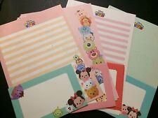 Disney Tsum Tsum Letter Set - Cute Korean Stationery - Kawaii writing paper