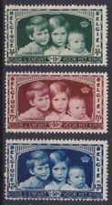Belgium**PRINCES&PRINCESS-KING LEOPOLD 2-3vals-Cat 20€-1930-ROYALTY-MNH