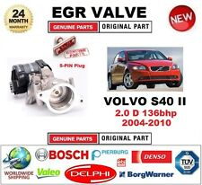FOR VOLVO S40 II 2.0 D 136bhp 2004-2010 Electric 5PIN EGR VALVE with GASKET/SEAL
