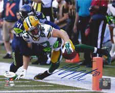 PACKERS Jordy Nelson signed 8x10 photo JSA COA AUTO Autographed TD vs Seahawks