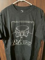 Gap Mens Short Sleeve Suit Tuxedo Bowtie Black T-shirt XL FS!