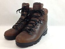 VTG Timberland Hiking Boots Womens 8 M Brown Leather Vibram Trail