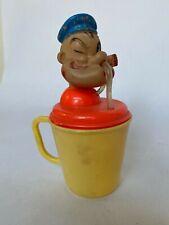 VTG RARE POPEYE KANT SPILL TRAINING KUP Baby World, 1950s 8'